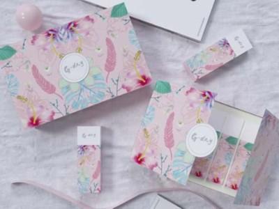 设计精美的化妆品包装盒,高颜值决定高销量
