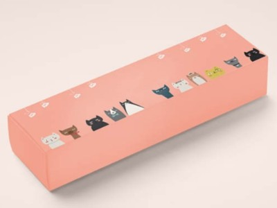 纸盒定制厂家告诉如何设计,简约风格的化妆品包装盒