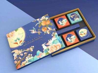 月饼包装盒_月饼包装盒定制厂家_恒印包装