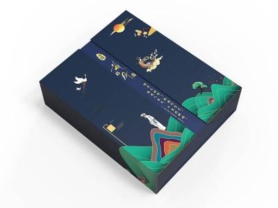 月饼礼盒_月饼包装盒定制_恒印包装