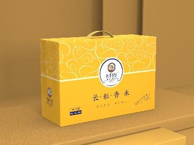 大米包装盒_包装盒定制厂家_包装盒印刷