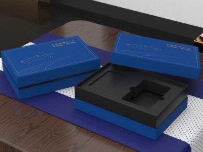 齐鲁交通集团在包装盒定制厂家定制的包装盒真上档次