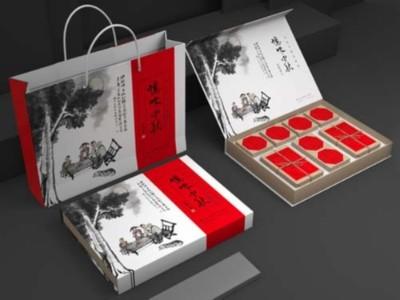 复古的月饼包装盒定制选择什么材质?