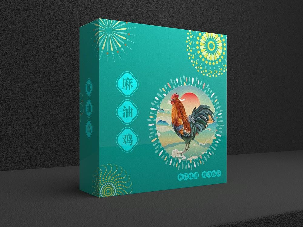 食品礼盒定制_包装盒定制厂家_恒印包装
