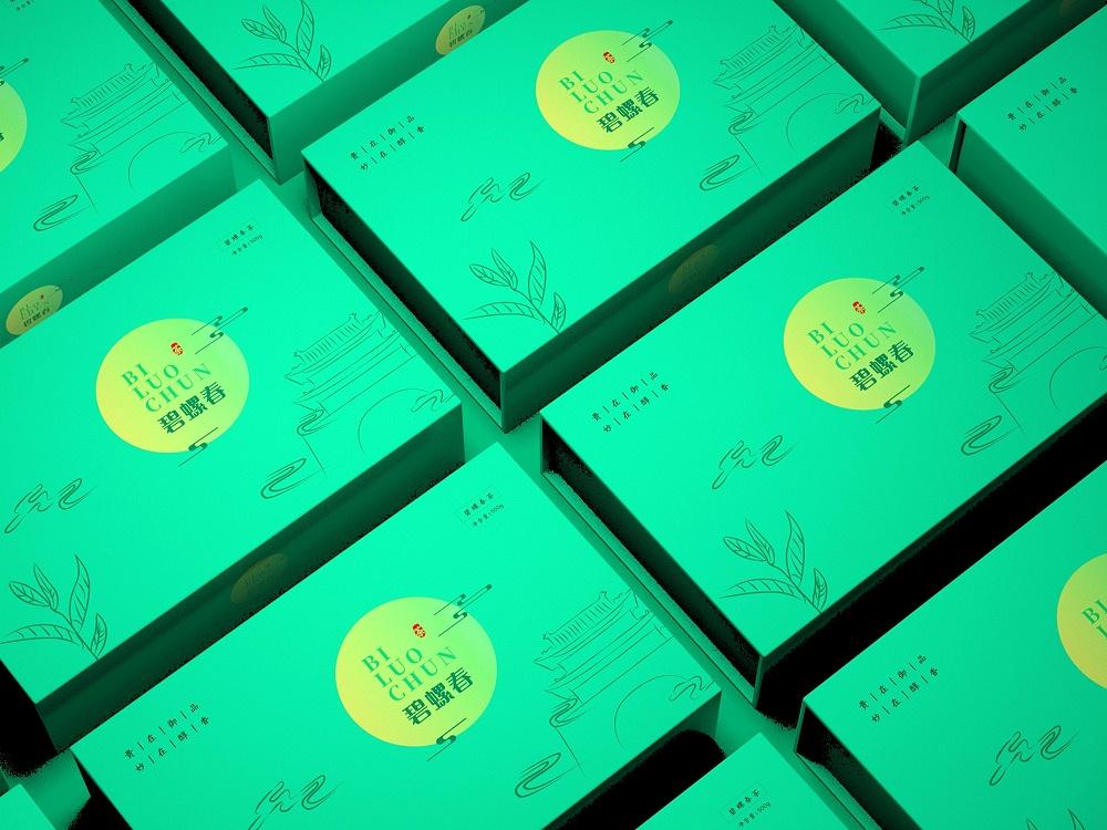 碧螺春包装盒—茶叶包装盒定制—恒印包装