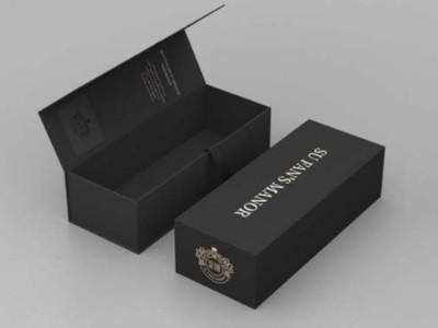 包装盒定制厂家为您分析,为什么酒盒包装覆膜后会出现颜色色差?
