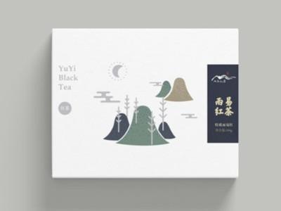 茶叶包装盒太土,这样设计既简单又时尚