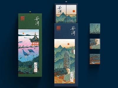 济南茶叶礼盒定制运用新工艺为包装加分